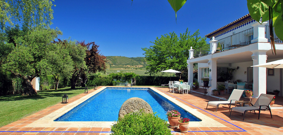 Luxury villa holiday Ronda